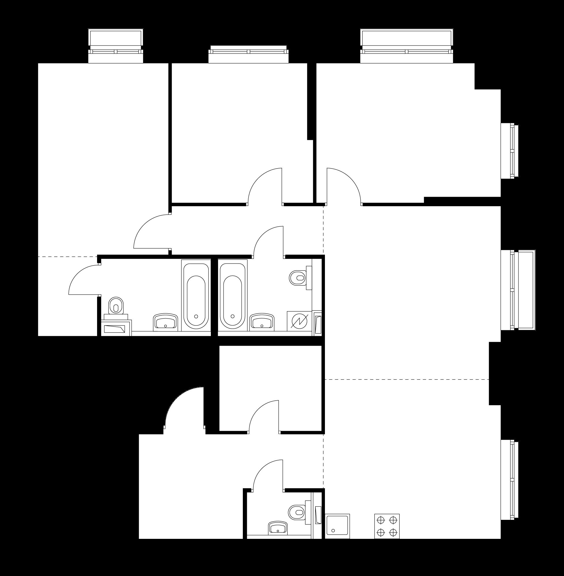 4-комнатная 101.1 м²