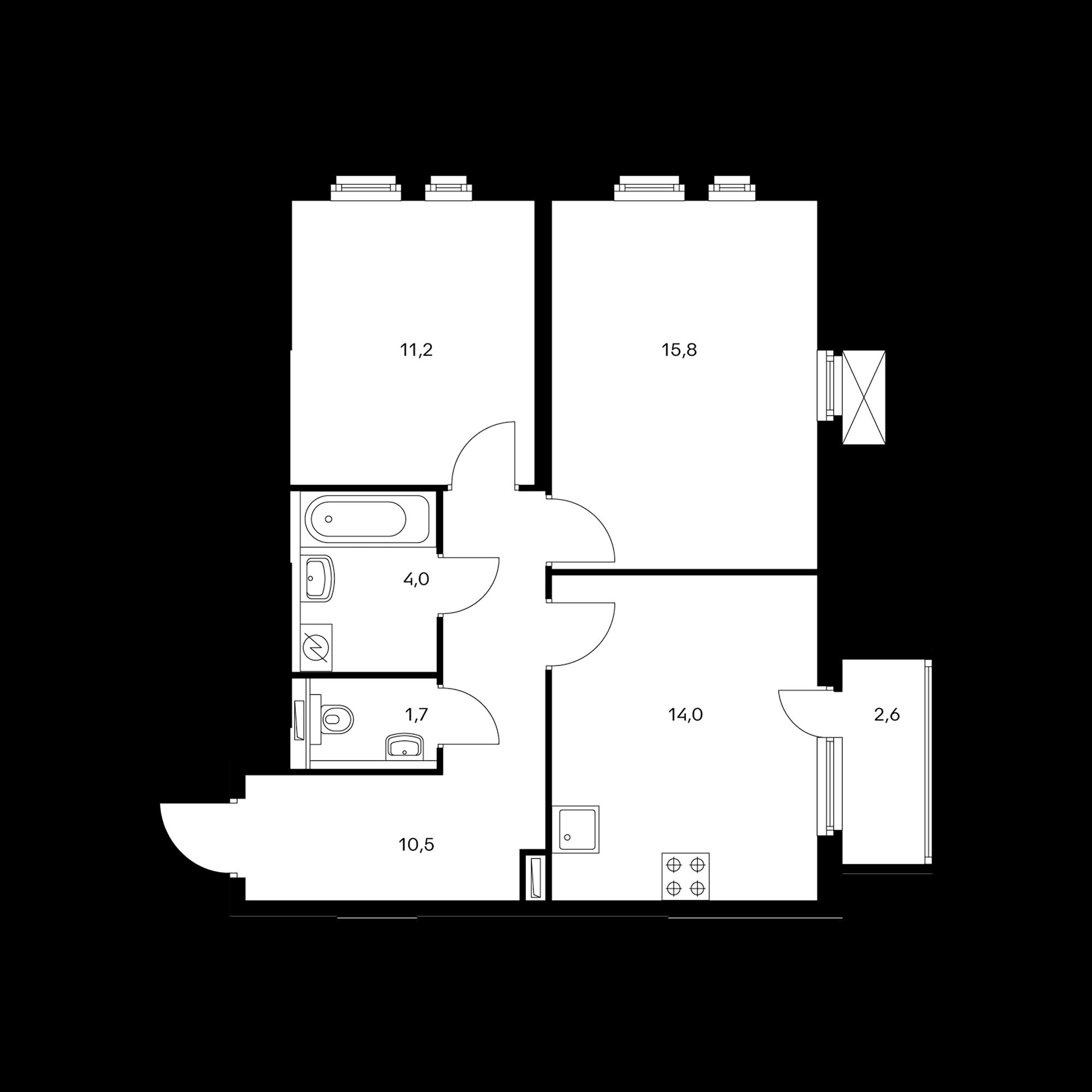 2KM1B-9.9-1SZ4